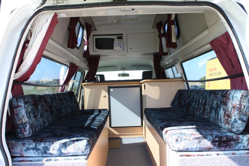 2 Berth Campervan Hire New Zealand 2 Berth Camper Rental